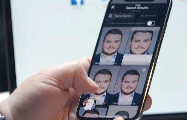 L'applicazione mobile di Clearview
