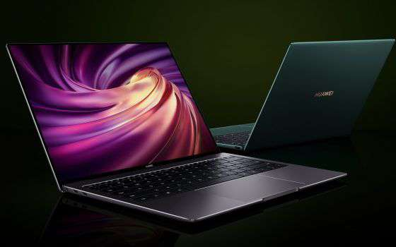 MateBook X Pro 2020, l'eleganza del classico