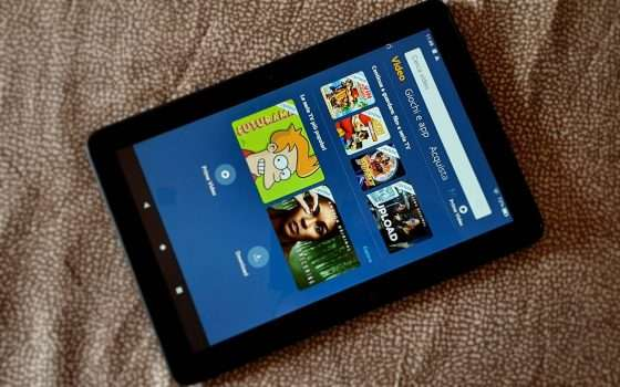Amazon Fire HD 8, disponibile su Amazon