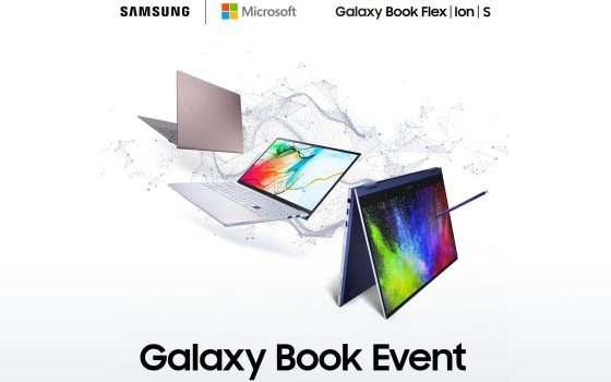 Book S, Flex e Ion: i tre nuovi laptop Samsung