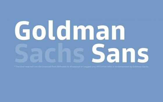 La prima regola del Goldman Sans è...