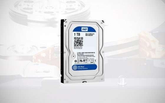 HDD Western Digital da 1 TB in sconto del 24%