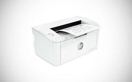La stampante laser di HP oggi a meno di 70 euro