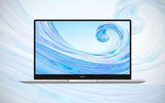 Huawei Matebook D 15, sconto per la eBay Tech Week
