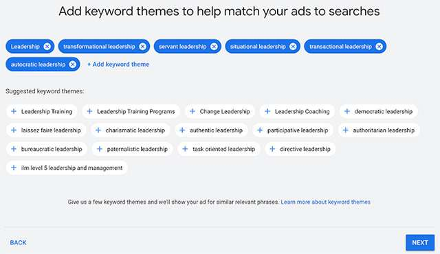 Google Ads: le parole chiave per le campagne intelligenti