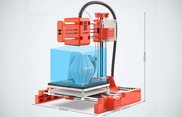 La stampante 3D di Labists (modello X1) in offerta su Amazon