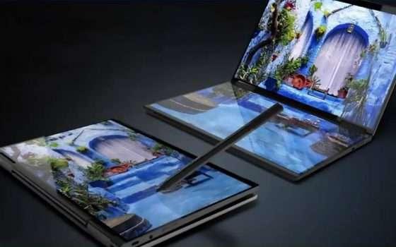 Lenovo sta puntando sui dual screen con Yoga