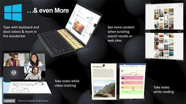 Il modello dual screen della linea Lenovo Yoga
