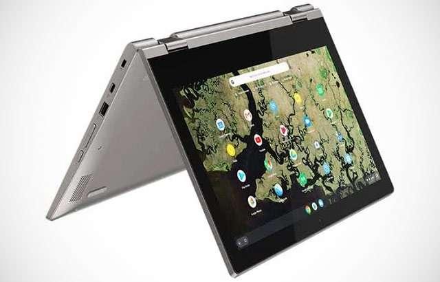 Il laptop Lenovo C340-11 Chromebook con Chrome OS