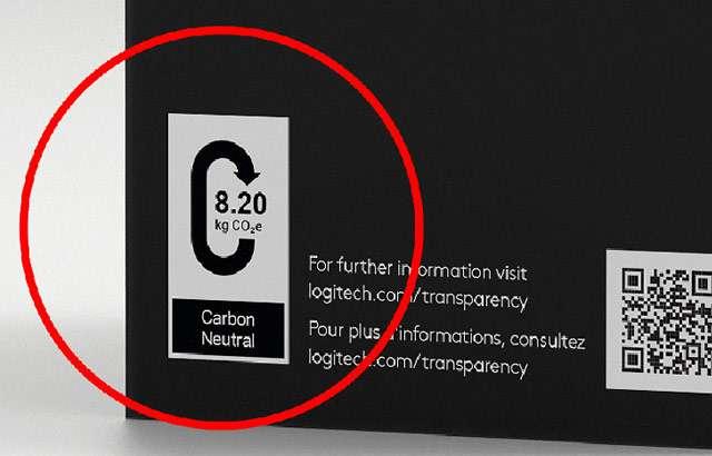 L'etichetta di Logitech per indicare l'impatto ambientale dei dispositivi in commercio