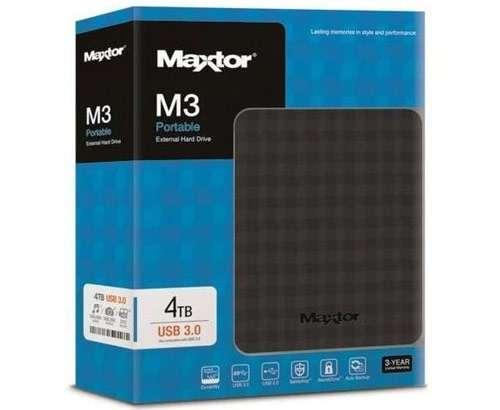 Il disco fisso esterno Maxtor da 4 TB