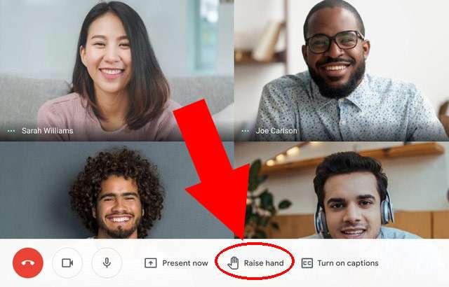 Google Meet: il comando per alzare la mano durante le lezioni