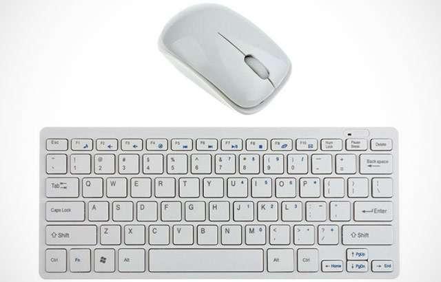 Il kit con mouse e tastiera wireless su eBay