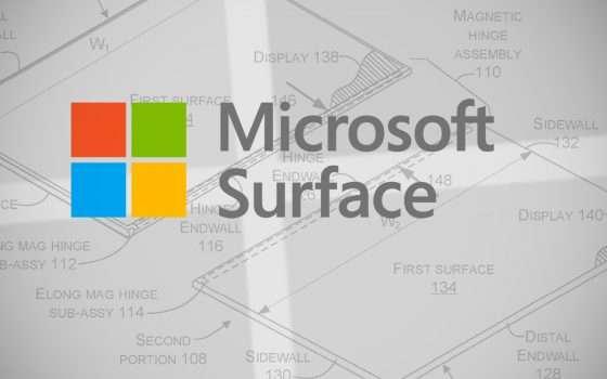 Un Surface dual screen e modulare per Microsoft?