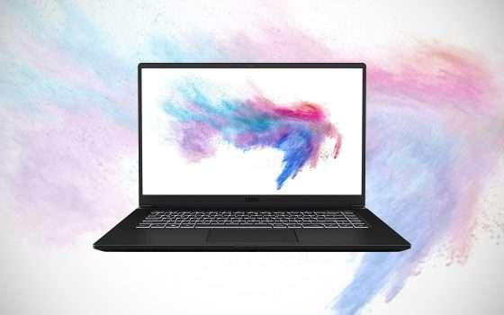 Il laptop MSI Modern 15 in sconto su Amazon