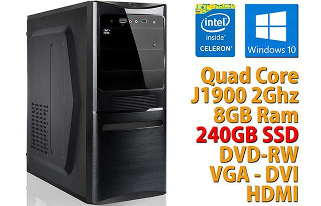Le caratteristiche del PC assemblato in vendita su eBay