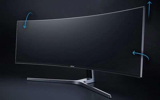 Samsung Days: monitor 49'' ultrawide curvo a -47%
