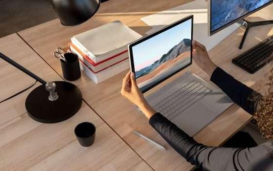 Surface Book 3 e Headphones 2 da oggi in Italia