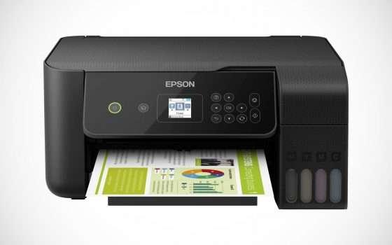 Offerte eBay: sconto 32% su Epson EcoTank ET-2721