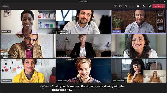 I sottotitoli dal vivo di Microsoft Teams