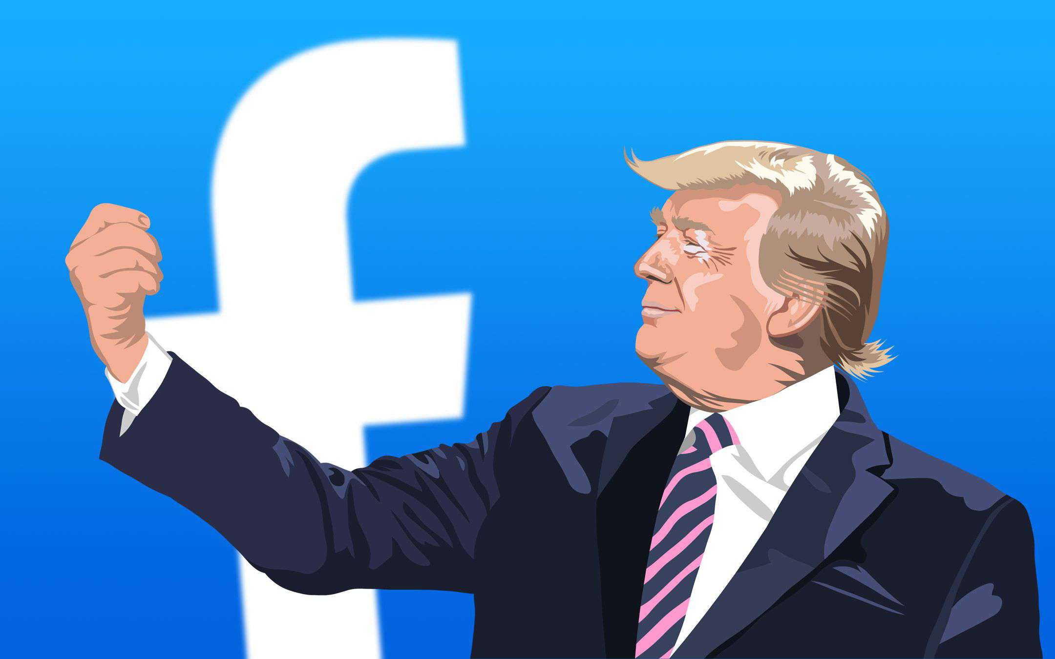 Facebook: the right has more engagement