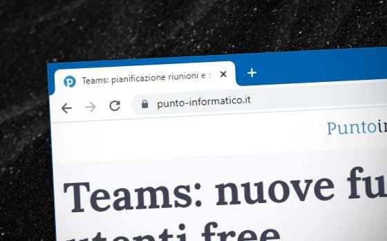 Chrome taglia l'URL nella barra dell'indirizzo