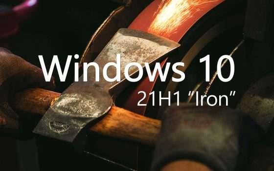 Windows 10: si pensa già all'update 21H1 Iron