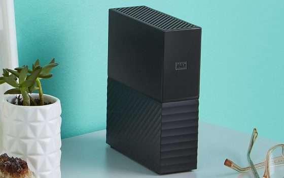 HDD esterno WD da 8 TB in sconto su eBay