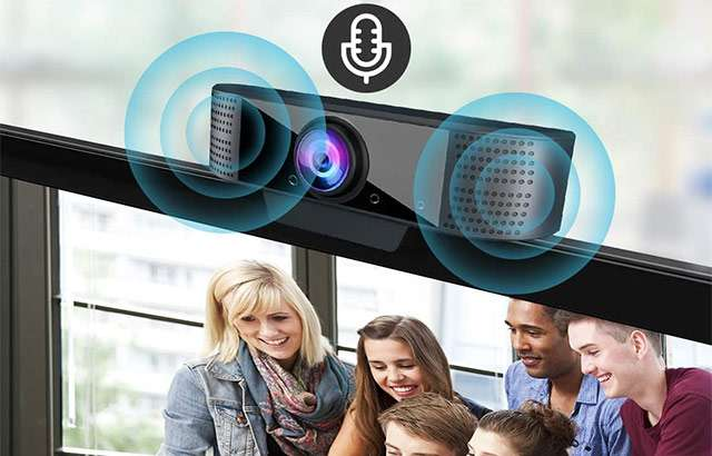 La webcam MHDYT con microfono integrato