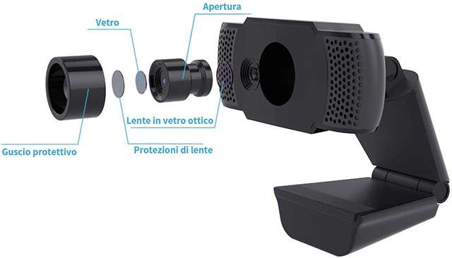La webcam Full HD di Wansview