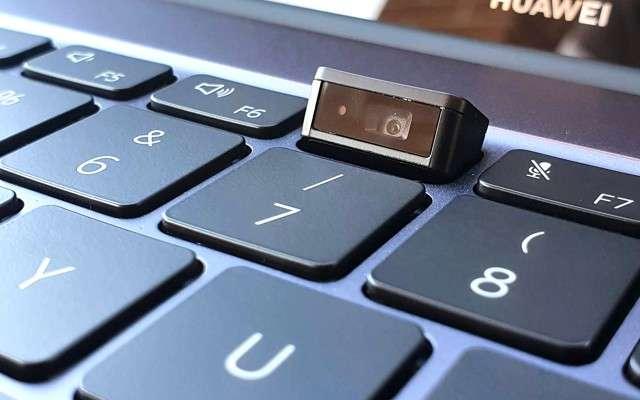 Huawei Matebook 14 i7: webcam a scomparsa