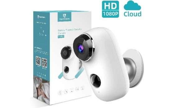 Heimvision Telecamera WiFi 1080P, Batteria