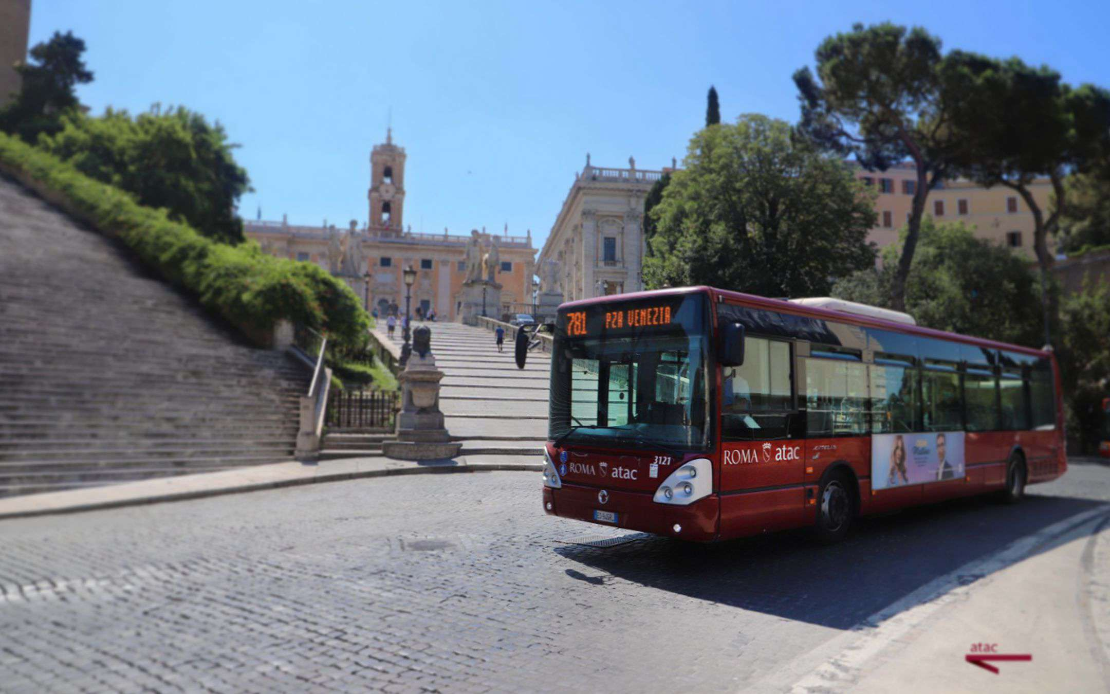 ATAC, Fastweb, Ericsson: here is the first 5G bus