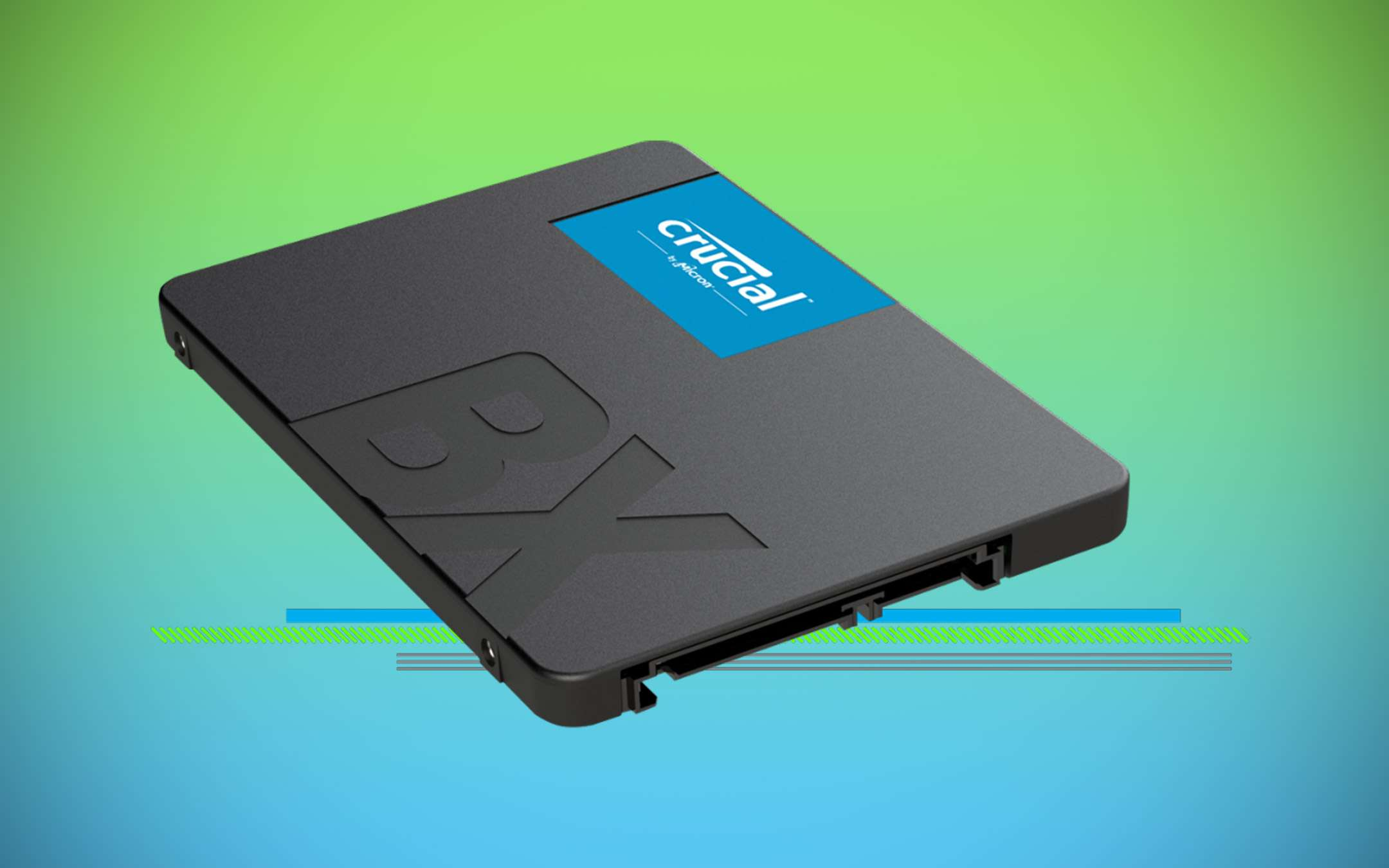 Less than 35 euros for the 240 GB Crucial BX500 SSD