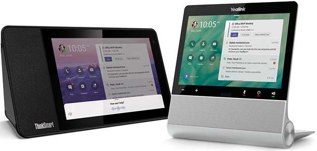 Lenovo ThinkSmart View e il display di Yealink per Microsoft Teams