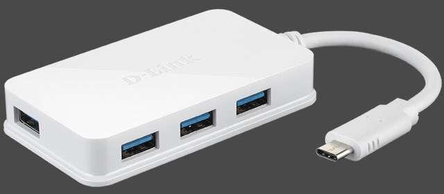 Lo hub D-Link DUB-H410 per moltiplicare le porte USB del PC