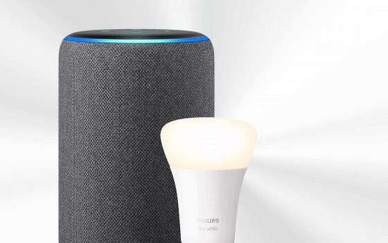 Amazon Echo Plus e Philips Hue: e luce fu