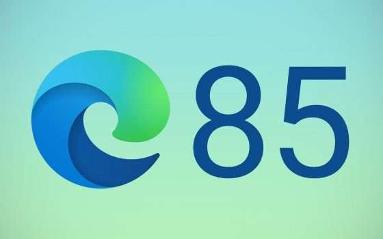 Edge 85, disponibile la Beta: le novità del browser