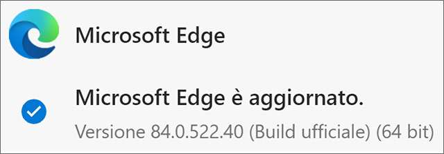Il browser Edge di Microsoft aggiornato alla versione 84