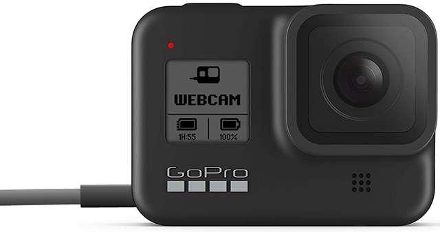 La action cam GoPro HERO8 Black diventa una webcam