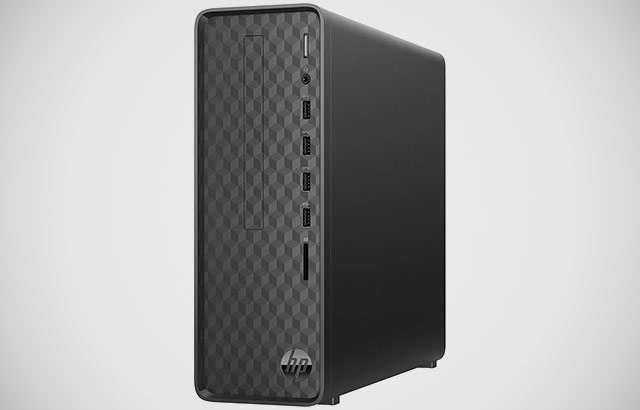 Il computer desktop HP Slim Desktop S01 oggi in offerta da Unieuro