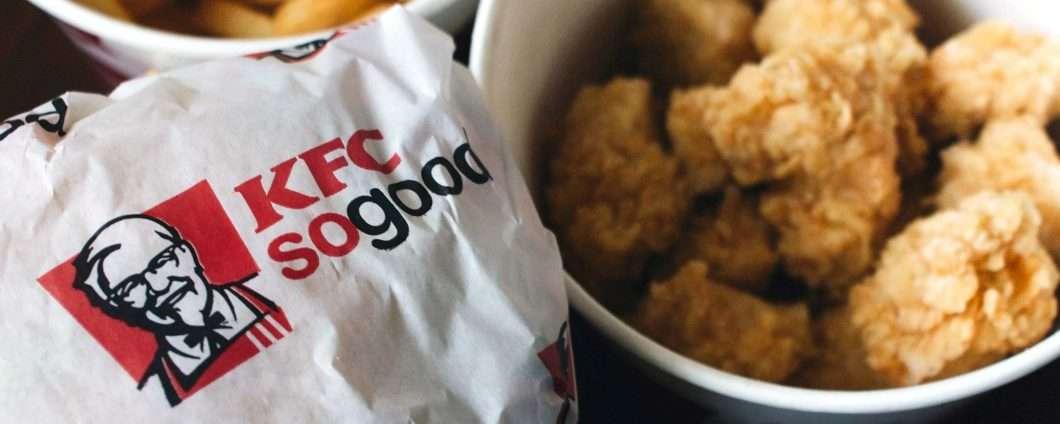 I chicken nugget stampati in 3D nei ristoranti KFC