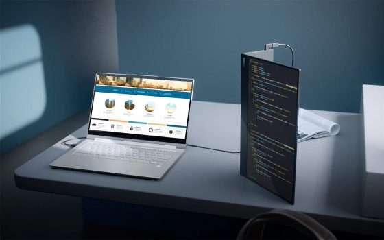 Il monitor portatile Lenovo ThinkVision M14t