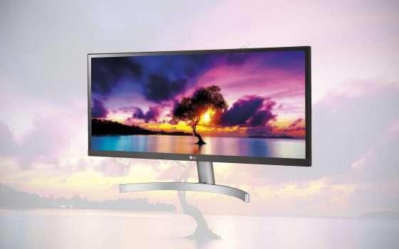 Monitor LG ultrawide 29 pollici in offerta a -33%