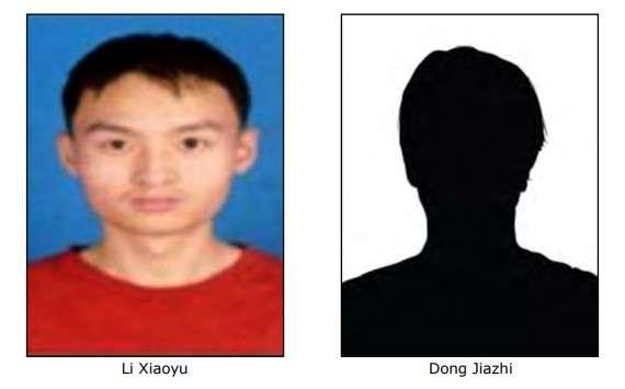 Li Xiaoyu e Dong Jiazhi