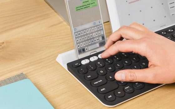 Logitech K780, tastiera wireless multidispositivo