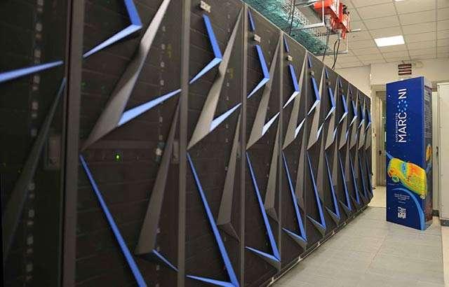 Il supercomputer Marconi100 di IBM e CINECA