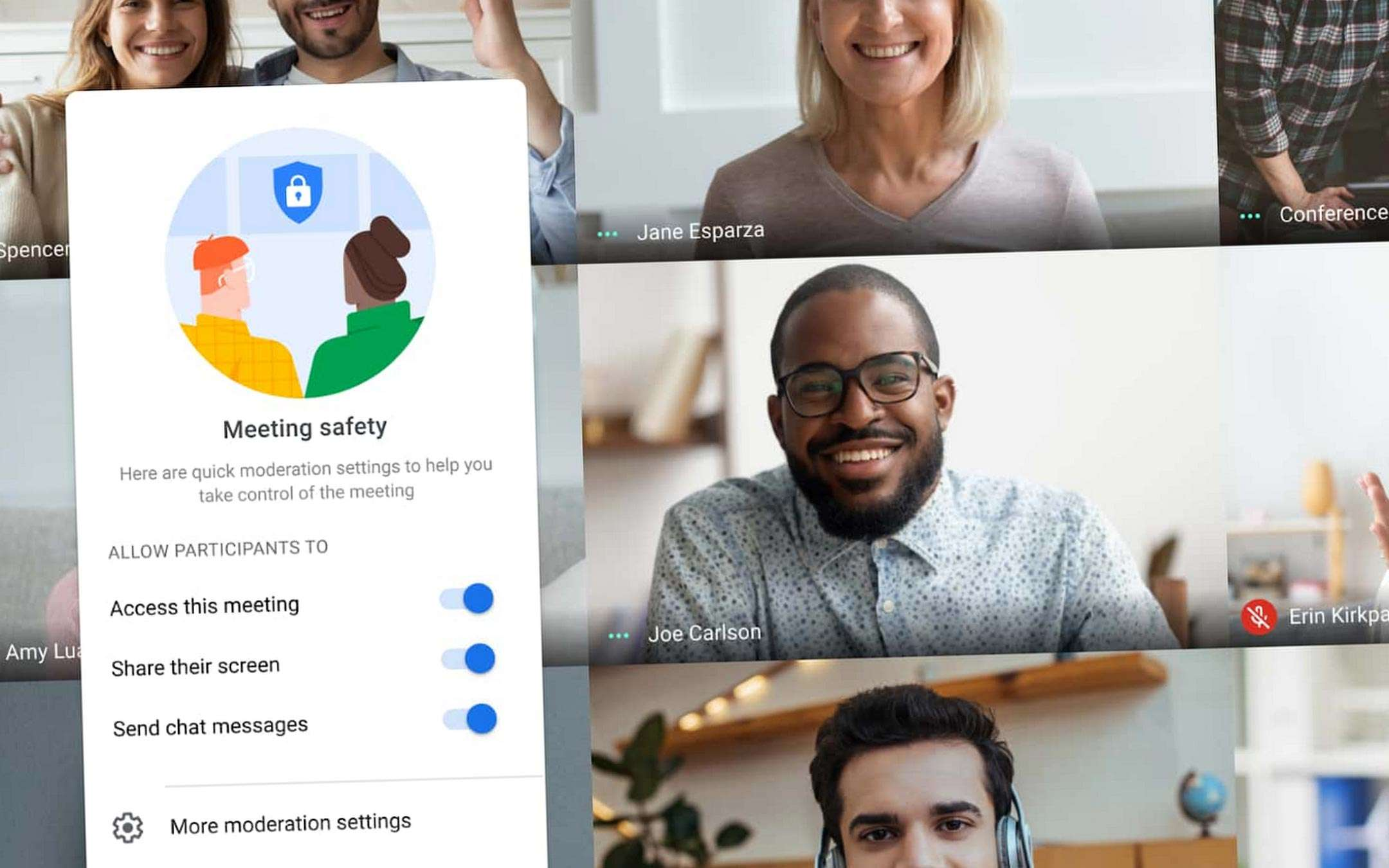 G Suite: Google Meet Safety Locks and other news