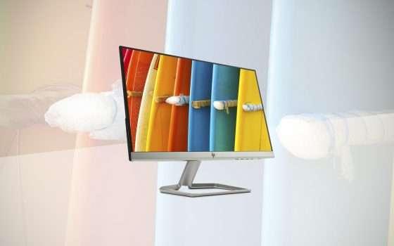 Il monitor HP 22F in offerta su eBay a 99,99 euro