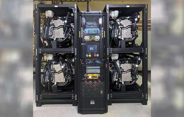 L'apparato impiegato da Microsoft per alimentare i propri data center con l'idrogeno